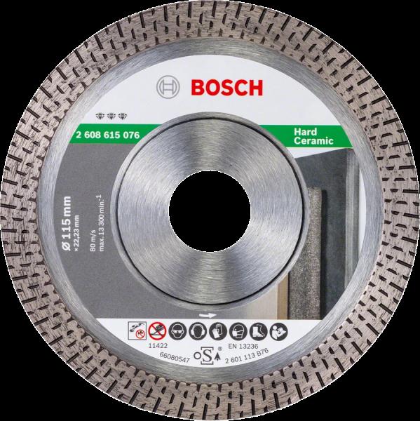Bosch Professional DIA-TS 76x10 Best f. HardCeramic GWS12 (2608615109)