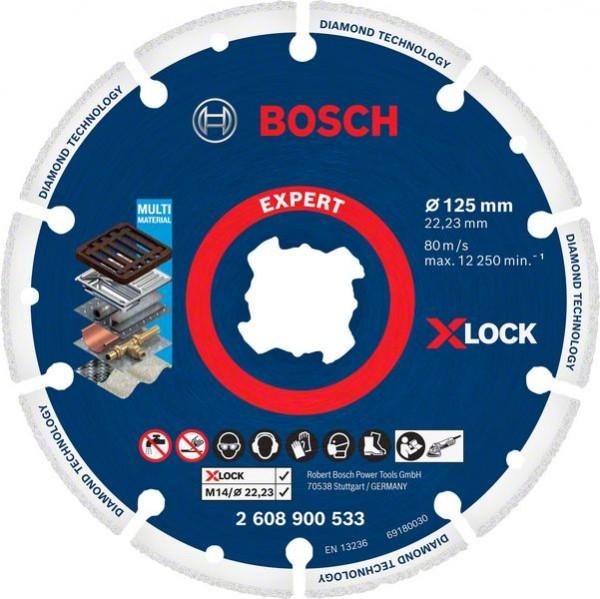 Bosch Professional X-LOCK Dia Metalltrennscheibe125x22.23mm (2608900533)