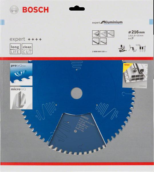Bosch Professional Kreissägeblatt EX AL B 216x30-64 (2608644110)