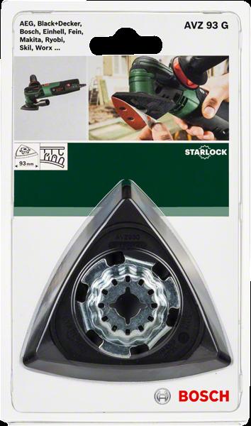 Bosch DIY Deltaschleifplatte AVZ 93 G(2609256956)