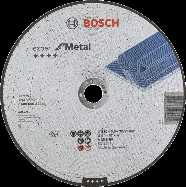 Bosch Professional Trennscheibe 230X3 mm F.Metall (2608600324)