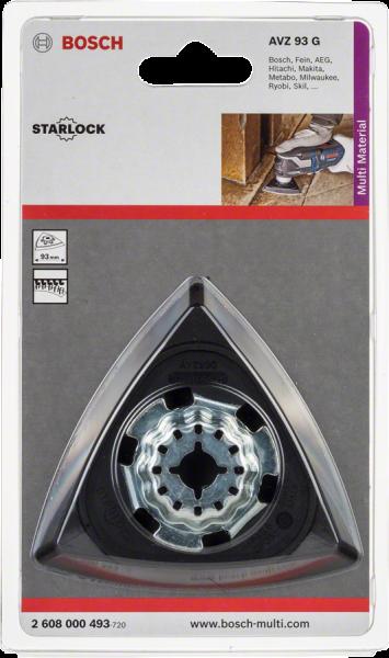 Bosch Professional Schleifplatte Mikrokletthaft. AVZ 93 G (2608000493)