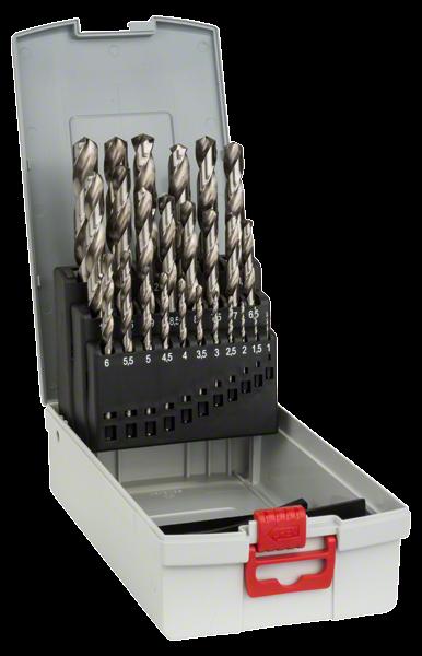Bosch Professional Pro Box HSS-G 135°, 25 tlg. 1,0–13,0 mm (2608587017)