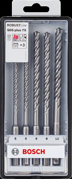 Bosch Professional 5tlg. plus-7X, 6/6/8/8/10mm (2608576200)