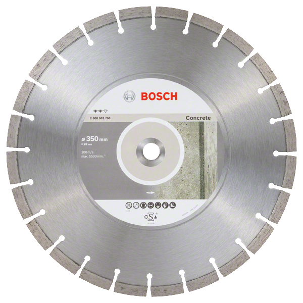 Bosch Professional DIA-TS 350x20 Expert Concrete (2608603760)